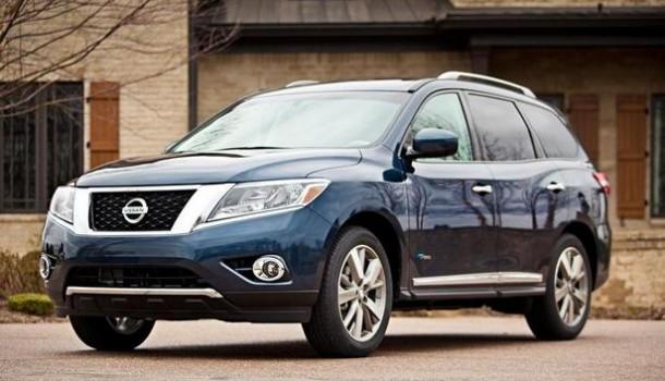 Nissan tras el mercado Híbrido: Pathfinder 2014