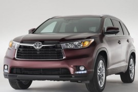 Primicia mundial: Toyota Highlander 2014