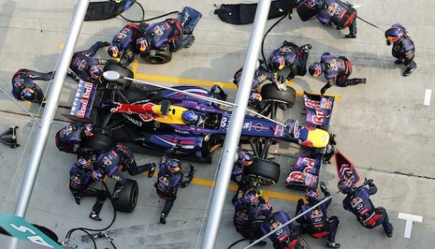 Infiniti Red Bull Racing establece nuevo récord mundial de parada en pits