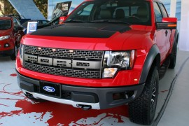 Ford Raptor SVT 2014, presentación