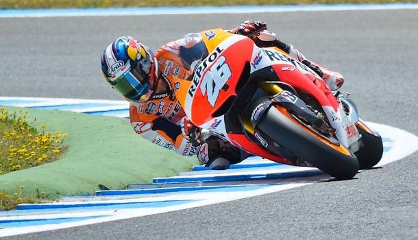 Dani Pedroza lidera el triplete español en el Moto GP de Jerez