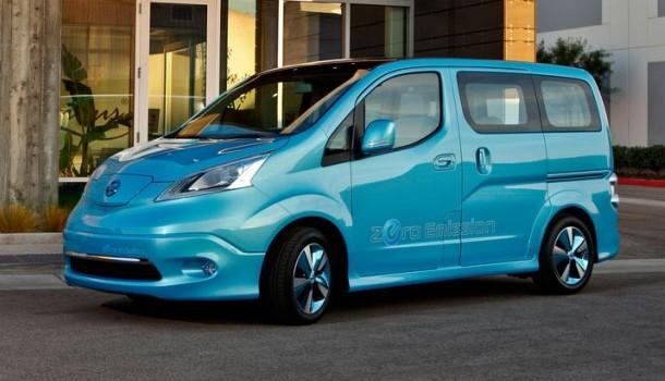 Nissan inicia las pruebas de campo para la e-NV200