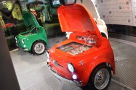 SMEG Fiat 500 el refrigerador con estilo