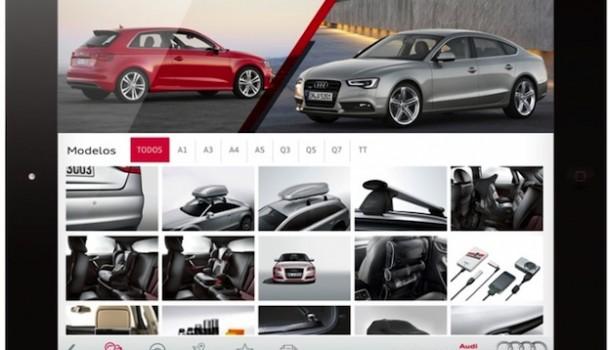 Personalización desde la App de Accesorios Audi