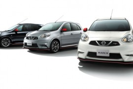 Nissan incrementa la gama Nismo con el March y Leaf