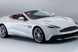 Aston Martin Vanquish Volante estilo al aire libre
