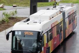 Tecnología ABB recarga autobuses eléctricos en 15 segundos