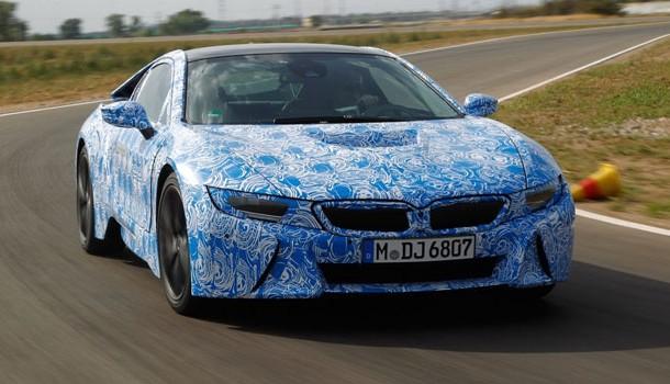 BMW  adelanta algunos detalles del i8