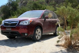 Subaru Forester 2014 primer contacto