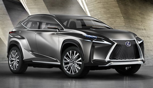 Lexus LF-NX, ¡agresivo no, lo que sigue!