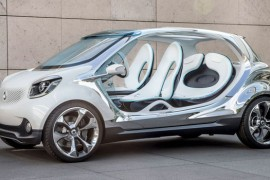 Smart FourJoy Concept, extraño y atractivo