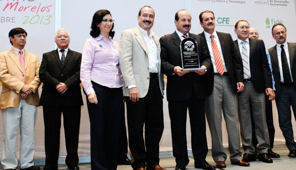 Planta de Bridgestone de Cuernavaca recibe premio de ahorro de energía 2013
