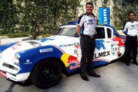 Memo Rojas listo para afrontar La Carrera Panamericana