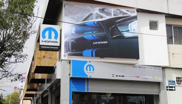 Primera Mopar Shop en Guadalajara