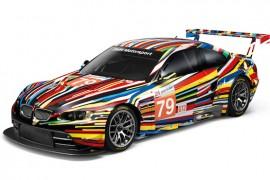 BMW Art Car de Jeff Koons celebra su premier en Estados Unidos.