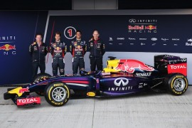El nuevo RB10 de Infiniti Red Bull Racing