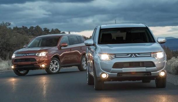 Mitsubishi Outlander y ASX repiten como Top Safety Pick's por el IIHS en 2014