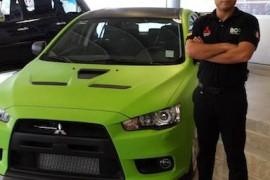 Ricardo Cordero firma contrato y es presentado  como piloto de BGR – Mitsubishi en 2014