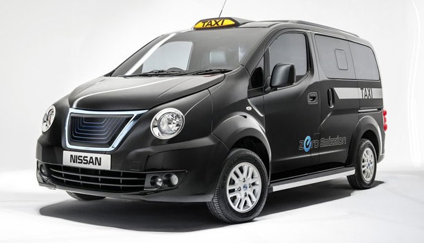 Nissan revela el nuevo rostro del taxi para Londres