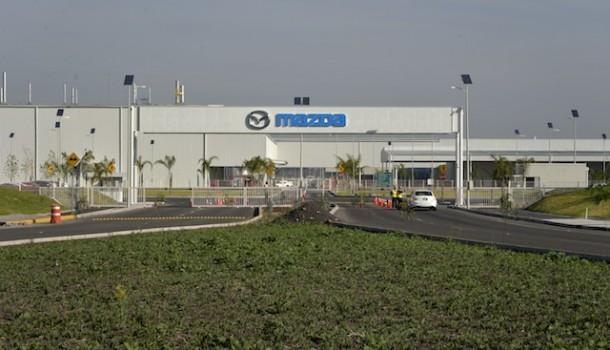 Nueva planta automotriz de Mazda. Se encuentra en Salamanca, México.