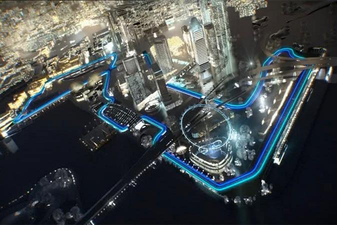 Circuito Callejero De Marina Bay : Gp de singapur memo lira