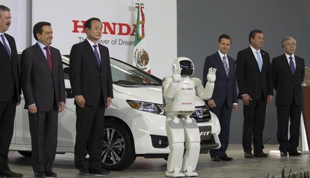 Honda inauguró su nueva planta en México
