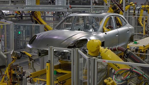 Porsche inaugura su nueva planta para el Macan