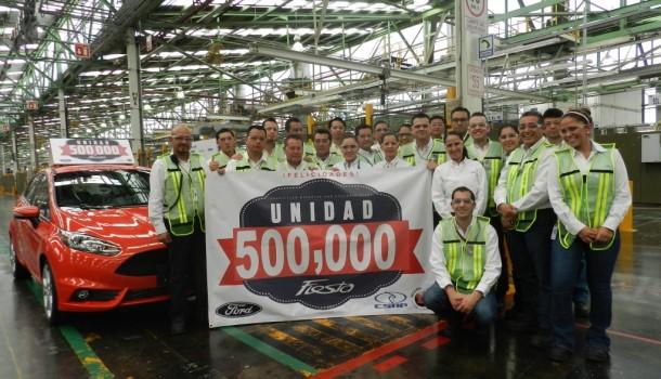 Ford de México produce el Ford Fiesta número 500,000
