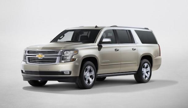 Chevrolet presenta la nueva generación de las SUVs grandes: Tahoe y Suburban 2015