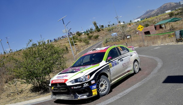 Primer lugar para BGR-Mitsubishi  en el Rally de México 2014