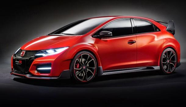 Por fin se presenta el Honda Civic Type R Concept