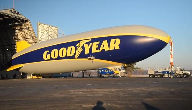 Más grande, rápido y maniobrable, así es el nuevo dirigible de Goodyear