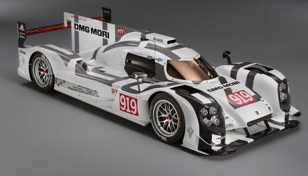 Primera presentación del 919 Hybrid en el Museo Porsche