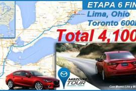 Llegamos a Toronto, 4,100 kilómetros del Mazda3Tour