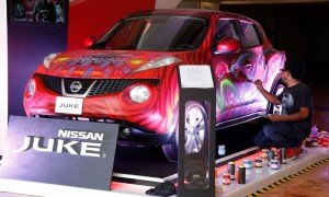 Nissan Juke apoyó el talento y la pasión por el arte en la tercera edición del Affordable Art Fair México 2014