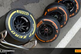 Pirelli revela la elección de neumáticos