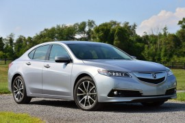 Acura TLX 2015 es reconocido por la NHTSA y la IIHA