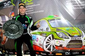 Benito Guerra satisfecho con lo logrado en el Rally México 2015