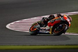 Márquez domina el FP1 de Moto GP en Qatar
