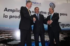 VW de México, anuncia la fabricación de un SUV compacto en su planta de Puebla