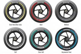 Bridgestone estrena nuevas bandas de color para MotoGP