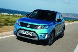 5 estrellas en seguridad para la Suzuki Vitara