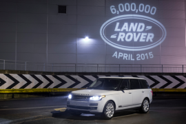 Seis millones de unidades, Land Rover Solihull