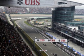 Datos más relevantes del Gran Premio de China