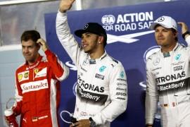 Primera pole de Hamilton en Bahrain