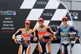 Tras encabezar la tabla de tiempos, Márquez se lleva la pole en Sachsenring