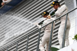 Hamilton gana en Spa y Lotus regresa al podium