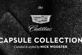 Cadillac lanza Capsule Collection presentada por Nick Wooster