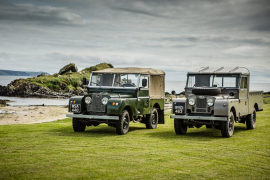 Islay, territorio Land Rover