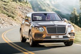 El SUV más veloz… Bentley Bentayga: 301 km/h